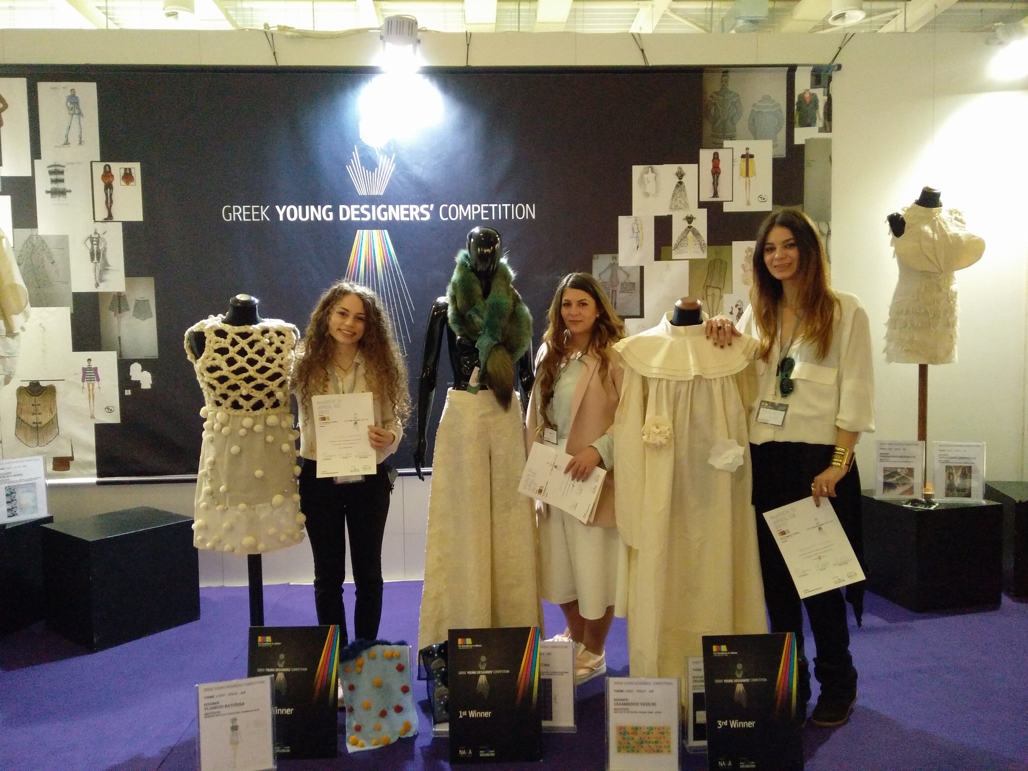 Greek Young Designers Competition Fur Excellence In Athens
